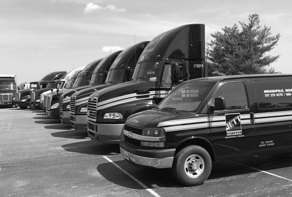 Jett Express Fleet Photo